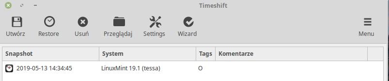 Timeshift - tworzenie migawki_kopia systemu_2.png